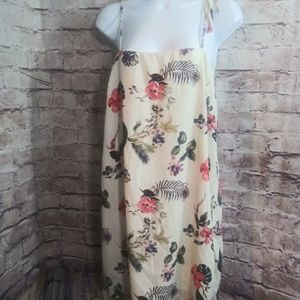 Dee Elly spaghetti string floral dress